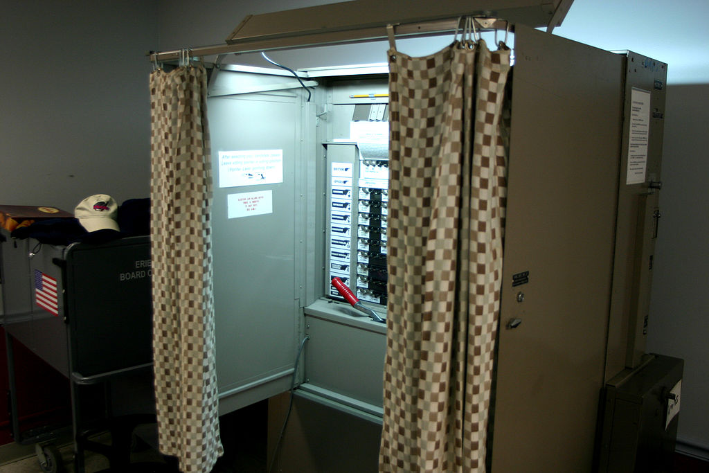 Voteing Booth