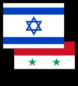 Israel-Syria_flages