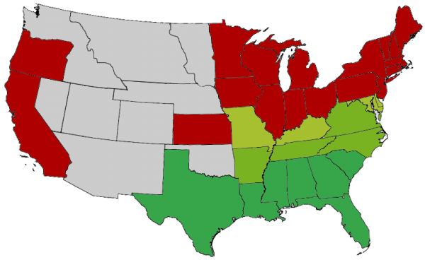 civil war secession map