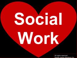 Social Justice Solutions Social Work Heart