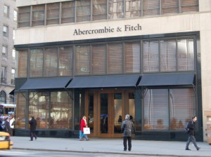 Abercrombie & Fitch Fifth Avenue NY