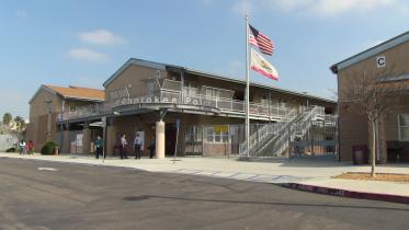 Cherokee Point Elementary School in City Heights, San Diego, CA